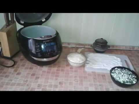 Домашние видео рецепты осетинский пирог с сыром и зеленью в мультиварке