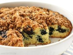Blueberry Buttermilk Coffee Cake - Budget Bytes