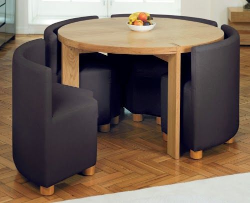 cozy and modular dining set for small dining room