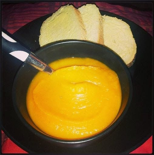The Family Badger: Butternut Squash and Sweet Potato Soup. Vegan soup, syn free on slimming world, wholefoods.