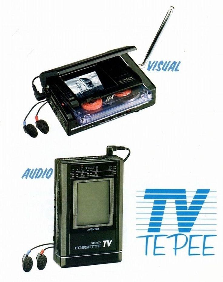TV Cassette -  Victor 1987
