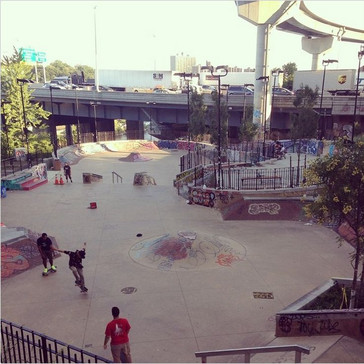 new york skatepark - Google Search