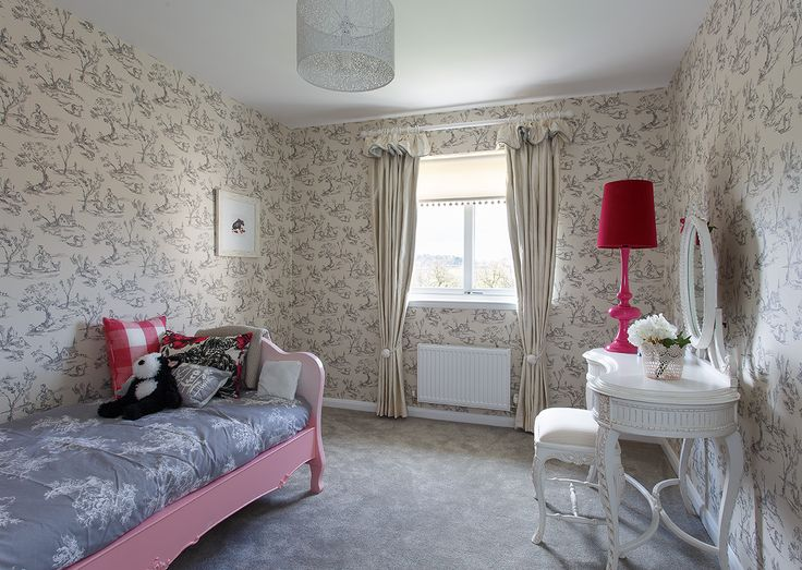 How pretty is this girl's bedroom at Walker Group's Hopefield Park in Bonnyrigg?