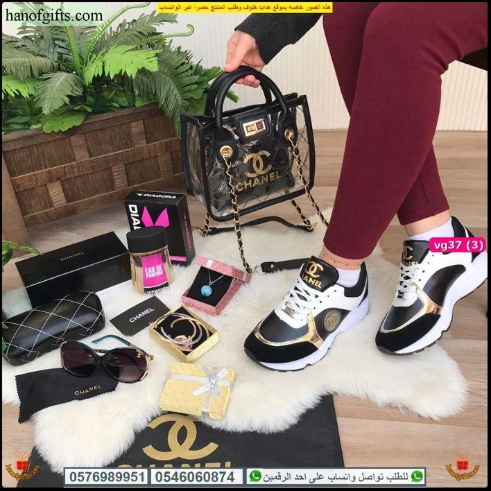 شنط شانيل نسائي Chanel مع عطر و شوز و نظارات من ماركه شانيل هدايا هنوف In 2021 Fashion Shoes Sandals
