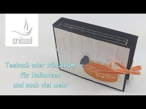 Teebuch oder Minialbum mit Stampin' Up! - YouTube