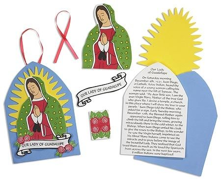 Our Lady Of Guadalupe Foam Craft Kit Kid S Crafts