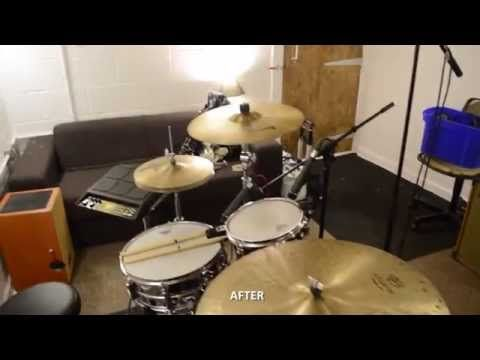 ▶ How to convert a garage into a 100% soundproof drum room & studio - YouTube