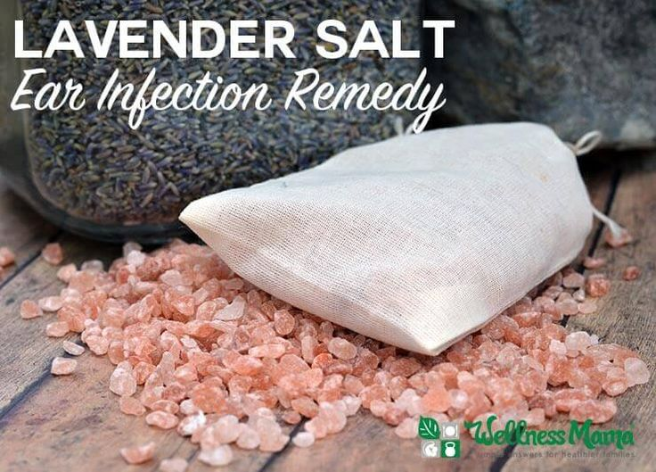 This simple lavender salt ear infection remedy combines the soothing properties of lavender flowers and the drying properties of salt.