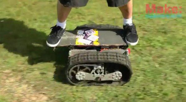 Ever since I first saw motorized skateboards, I always thought that there were a really great way to get around. Now that I'm older and saner, I know for a
