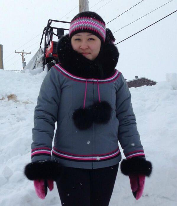 "Winifred Nungak on Twitter: ""My coat http://t.co/lCOrdyRS8M"""