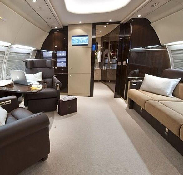 14 Best Luxury Private Jet Interiors Images On Pinterest