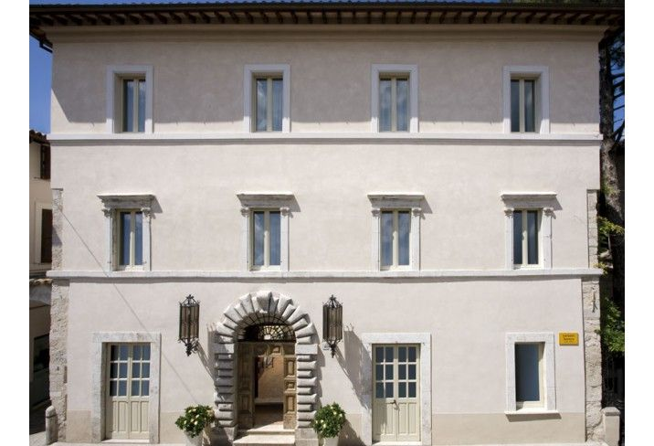 Palazzo Seneca - Norcia - Umbria - £130/night (or 165); 2.5hrs from pienza to norcia (through perugia)