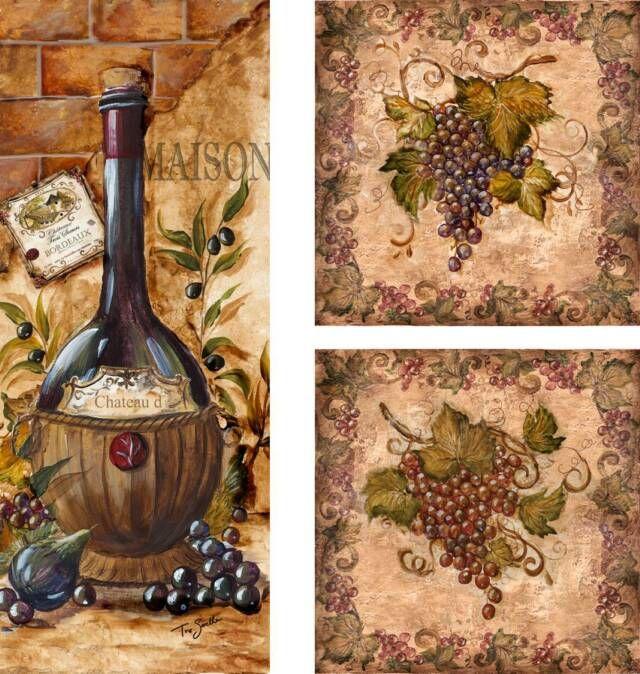 Tre Sorelle Art for Home Decor