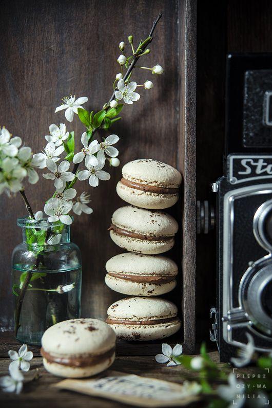 pieprz czy wanilia fotografia i kulinaria: Coffee & macaroons