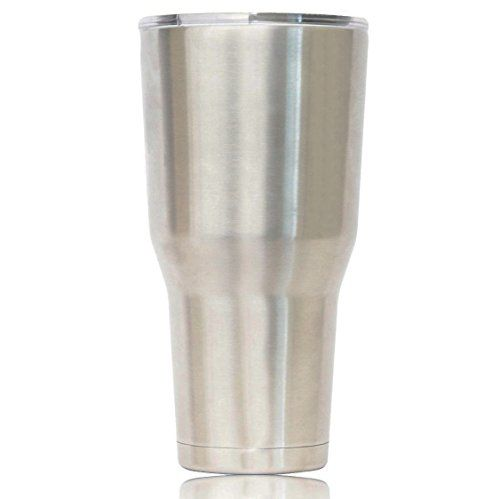 Stainless Steel 30 Oz. Travel Tumbler - Double Wall Vacuum Insulated - Keeps Ice Frozen for 72 Hours - Premium Insulated Thermos - Colder Than Yeti - 18/8 Stainless Steel - 30 Oz Tumbler Mug & Lid Eskimo Coolers http://www.amazon.com/dp/B01864WEPK/ref=cm_sw_r_pi_dp_Sxd6wb089SB6X