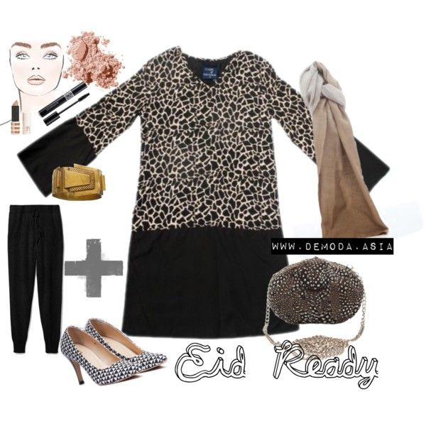Eid Ready on Polyvore featuring De Moda Asia, Theory, Bobbi Brown Cosmetics, Christian Dior, and Topshop
