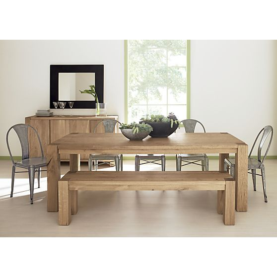 Big Sur Large Dining Table Crate And Barrel