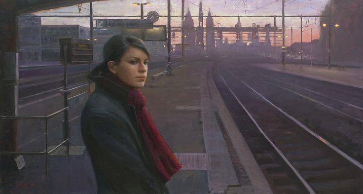 www.artshopnc.com  Tony Pro - Artist - Last Train Home