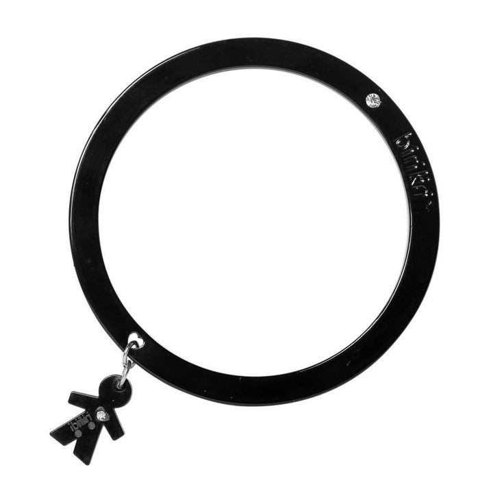 Braccialetto BIRIKINI bangle birikino nero
