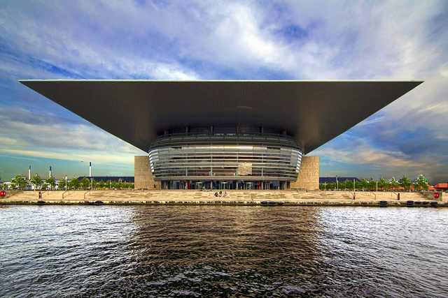 Operaen is Copenhagen's national opera house, among the most modern in the world. It is also one of the most expensive at well over $500 million. Designed by Henning Larsen, it was donated to the nation by the Møller Foundation (A.P. Møller was co-founder of the international giant now known as Mærsk) in 2000. Some complained it was a tax dodge, but the result is stunning.