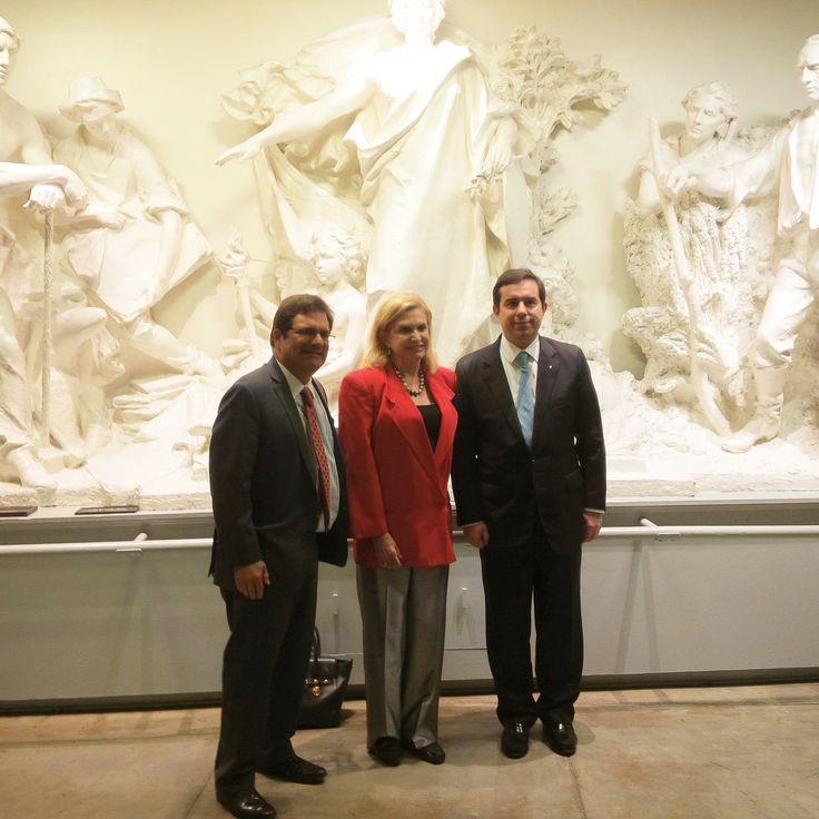 Με τον Gus Biliralis και την Carolyn Maloney (Μέλος της Βουλής των Αντιπροσώπων) - http://goo.gl/zZp1je
