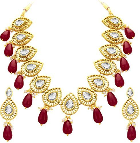 Red Pearls Bollywood Style Gold Plated Traditional Ethnic... https://www.amazon.com/dp/B06X3YQXMB/ref=cm_sw_r_pi_dp_x_El.Pyb3YRMKAB