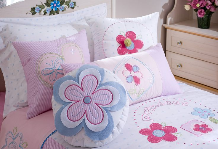 Комплект постельных принадлежностей Cilek Flora