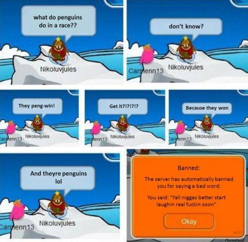 Club Penguin. Never Forget. via /r/funny...