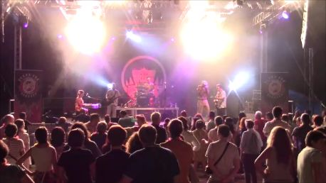 Pin Up, Hound Dog Rockers, Piano, Red, Smoke, Vintage, Rockabilly, Rock'n'Roll, Milano, Doublebass, guitar, drum, Lucignolo, armonica, live, stage, music, cool, yeah, audience, tittoni, villa, parco