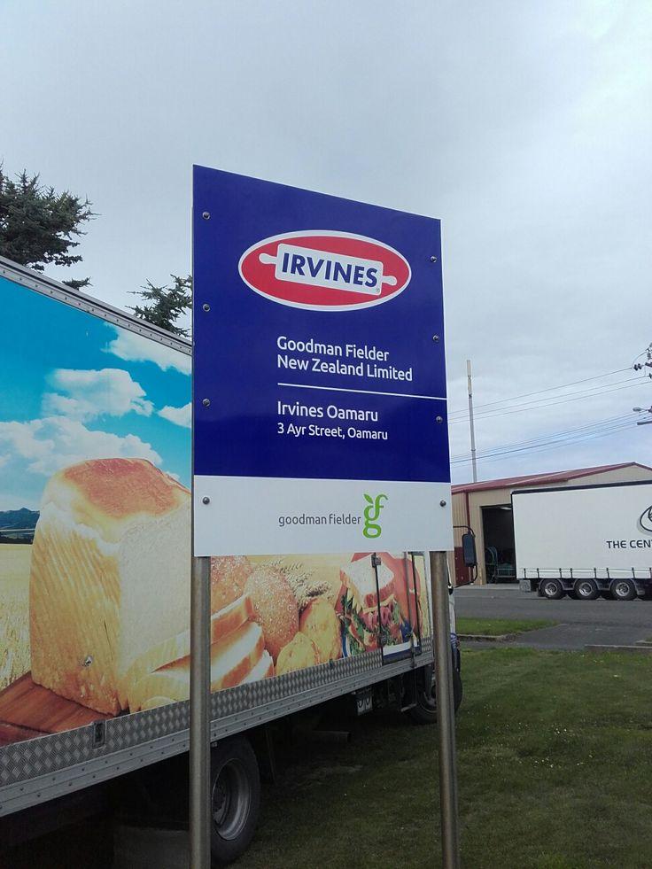 Speedy Signs Christchurch Riccarton sign installation Oamaru NZ
