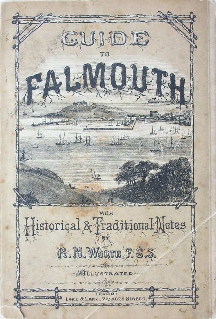 The collectors olivey place mylor bridge nr falmouth cornwall uk - An Old Guide To Falmouth Cornwall