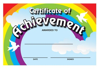 Great Certificates for kids - go to www.classideas.co.uk to see more designs.