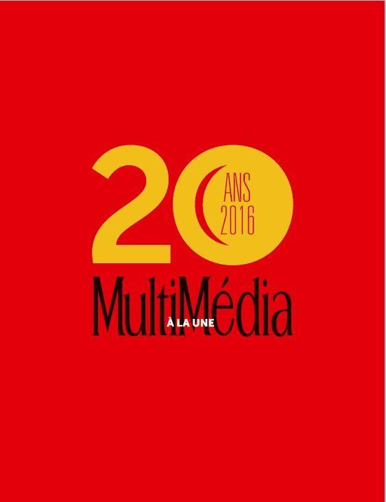 20 ans Multimédia à la Une : nouvelle maquette réalisée à l'agence !