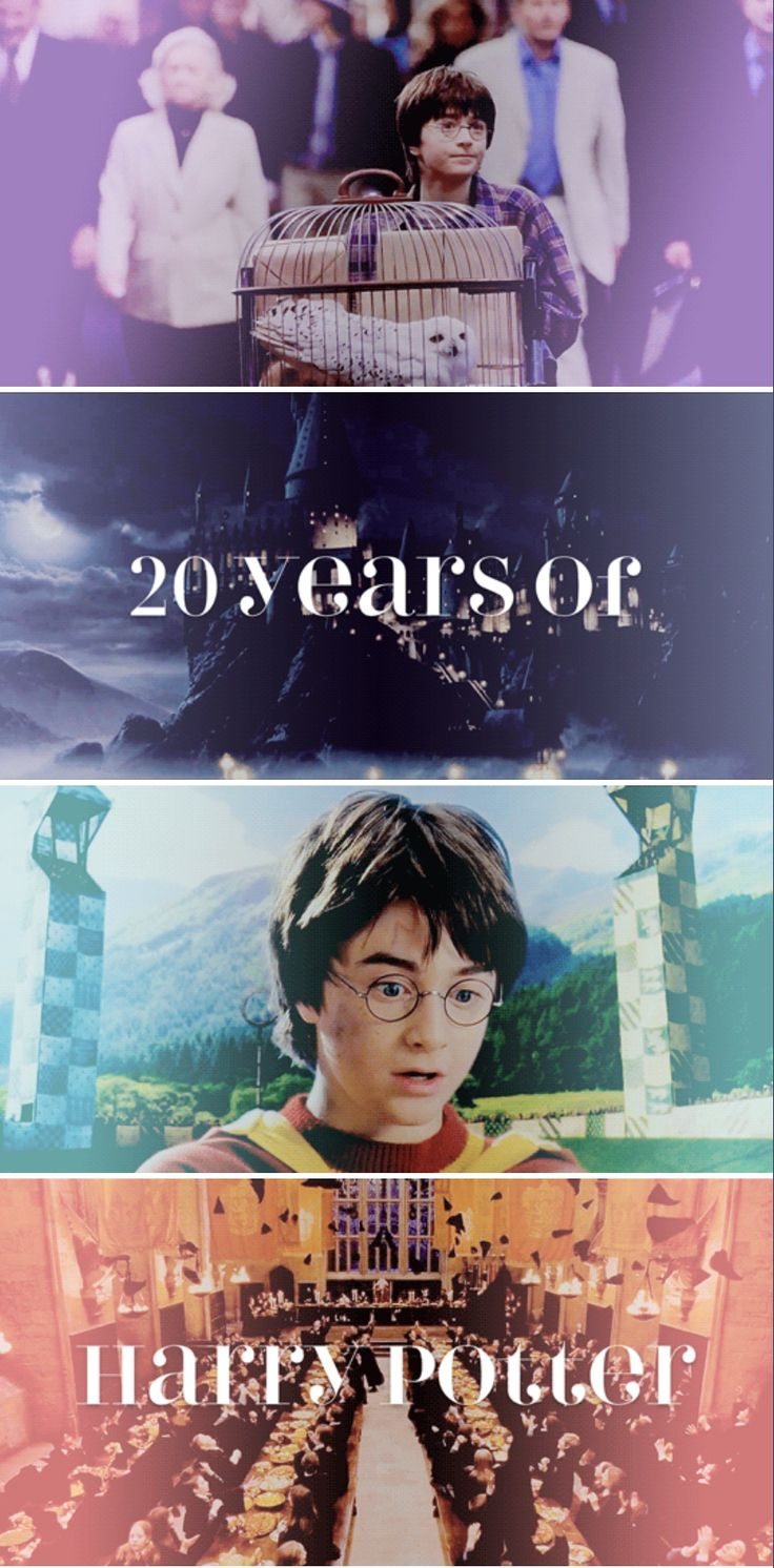 20 years of Harry Potter