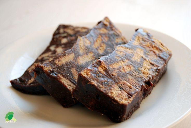 Kuchnia wegAnki: Wegański blok czekoladowy