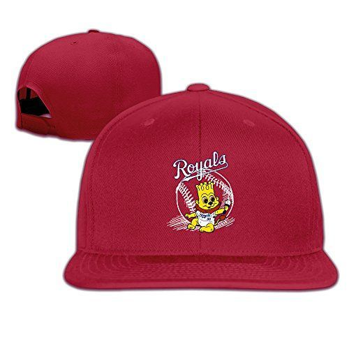 ElishaJ Casual KC Baseball Mascot Logo Baseball CapHat Red >>> You can find more details by visiting the image link.