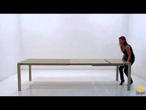 Tavolo up down ~ Composizione tavolo da pranzo century sedie nova e libreria wall