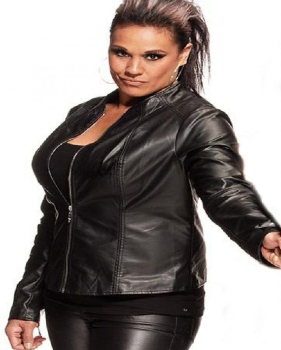Tamina Snuka Leather Jacket (1)