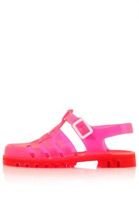 HUEY2 Gladiator Jelly Sandals
