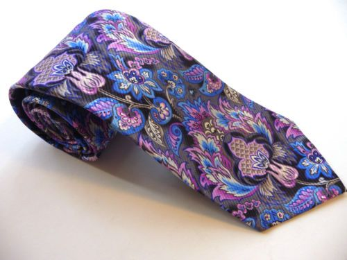 NEW-Robert-Talbott-Seven-7-Fold-print-tie-285-Retail-new-with-tags