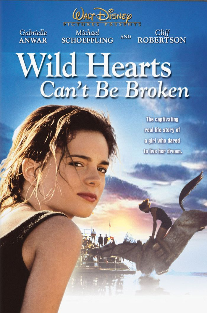 Wild Hearts Can't Be Broken (1990)- just a reminder that this movie about jumping horses off cliffs and into pools exists