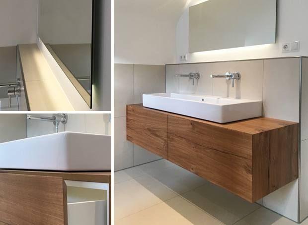 Badezimmermobel Altholz Neues Badezimmer Badezimmerspiegel Und