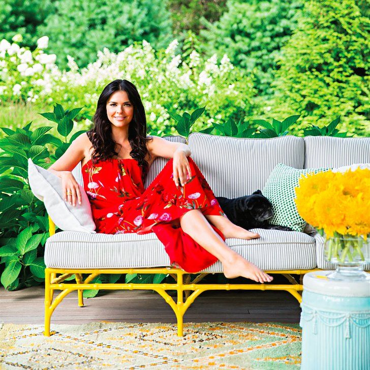 Inside Katie Lee's Bright and Colorful Southampton Home: If you've ever tuned into Food Network's The Kitchen or flipped through a Katie Lee cookbook, you're already familiar with her culinary talents.