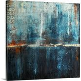 Found it at Wayfair - Midnight Express by Erin Ashley Painting Print on Gallery Wrapped Canvas