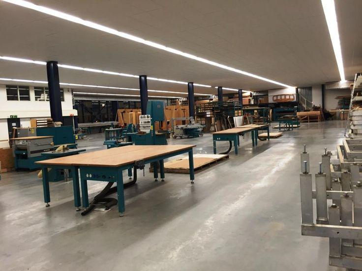 Modern purpose built workshops at Acico/Jongert in Netherlands.