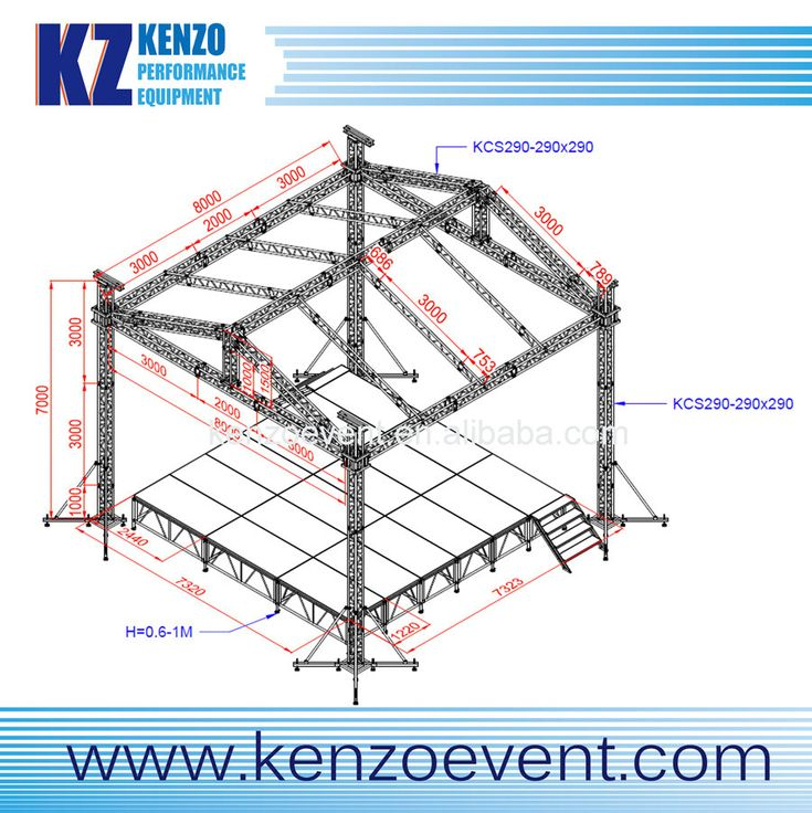 112 best truss and stage images on pinterest concert for Truss roof system