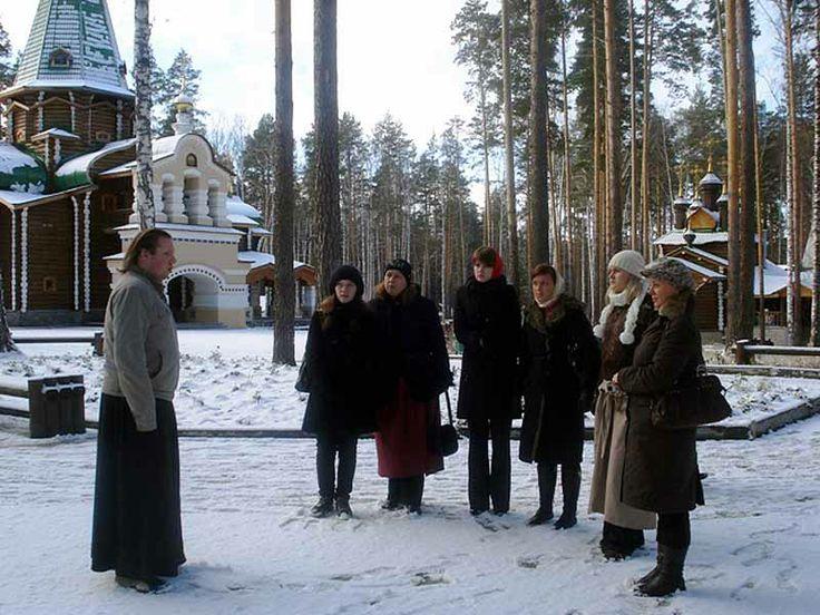 Winter in Jekaterinburg, Ganina Yama