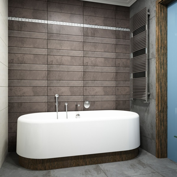 Ванная Комната / Bathroom by Stanislav Torzhkov, via Behance