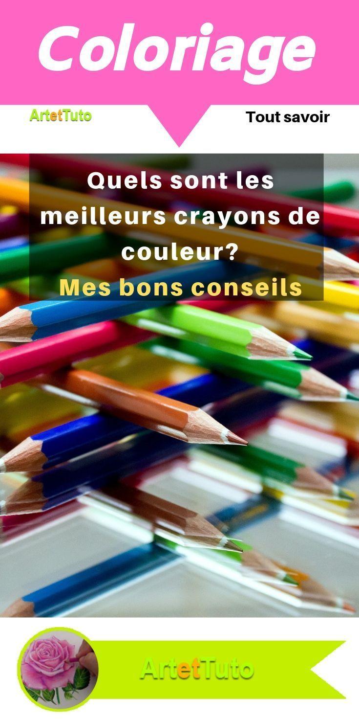 Meilleur Crayon De Couleur Pour Coloriage Adulte : meilleur, crayon, couleur, coloriage, adulte, Artettuto, Quels, Meilleurs, Crayons, Couleur, Comment, Techniques, Couleur,, Crayon, Aquarellable