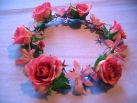 Rose Garland - Hot Pink  AUD$34.95